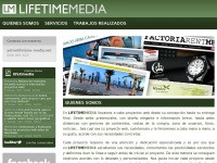 Lifetime-media.net - Diseño web Barcelona. Webs en Wordpress y a medida - Lifetime Media