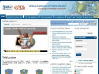 Campusvirtualsp.org - Virtual Campus for Public Health (VCPH/PAHO) | Bringing knowledge to practice