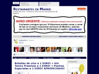 Restaurantes en Madrid