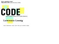 Code-is-law.org - Code and Other Laws of Cyberspace