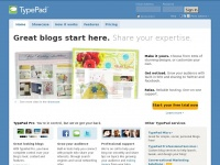Typepad.co.uk - Typepad. Share your passions with the world.   Typepad