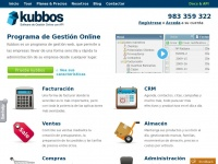 Kubbos | Online invoicing and business management software | Kubbos - ERP Online