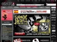 Emp-online.ch - EMP Merchandising The Heavy Metal Mailorder Merchandise Shirts and More