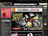 Emp-online.co.uk - EMP Mail Order UK Ltd The Heavy Metal Mailorder Merchandise, Shirts and more!