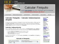 calcular-finiquito.com Thumbnail