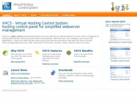 Vhcs.net - VHCS open source hosting control panel for simplified webserver management