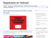 Registrarseenhotmail.com - Registrarse en Hotmail