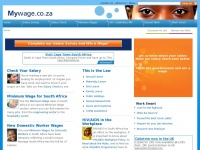 Salary Survey South Africa - Online Wage, Pay Survey at Mywage.co.za