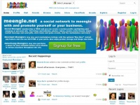 meengle.net - Socialize and Promote