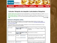 Calcularfiniquito.es - Calcular Finiquito GRATIS - Finiquito | Calculadora de Finiquito - Indemnización Despido | Cálculo despido