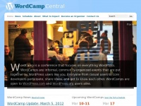 Wordcamp.org - WordCamp Central | WordCamp is a conference that focuses on everything WordPress.