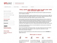 1PS.BIZ:: The service of automatic submission to directories and search engines