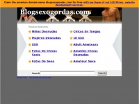 BlogSexoGordas.com: The Leading Blog Sexo Gordas Site on the Net
