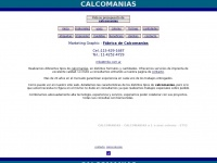CALCOMANIAS