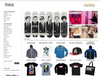 Roktic.co.uk - Graphic T-shirts, Streetwear from the best underground labels including RVLT & SIXPACK FRANCE Streetwear