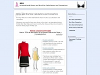 85b.org - International Dress and Bra Size Calculators and Converters