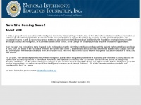 Niefoundation.org - National Intelligence Education Foundation, Inc.