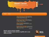 Resetcanon.com - Reset canon, Reset ink cartridge and printers