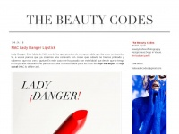 The Beauty Codes | Beauty and Fashion Blog
