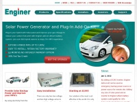 Enginer.us - Enginer | Solar Powered Prius Plug-in PHEV Conversion Kit with Lithium-Ion | Hybrid