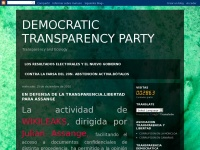 democratictransparencyparty.org
