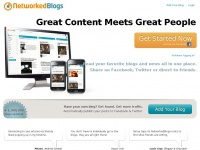 Nblo.gs - Great Content Meets Great People   NetworkedBlogs by Ninua