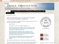 Aboutranslation.com - About Translation