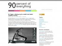 90percentofeverything.com - 90 Percent Of Everything | User Experience Design, Research & Good Old Fashioned Usability