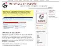 Wordpress-es.org - WordPress en español | Versiones de WordPress en español