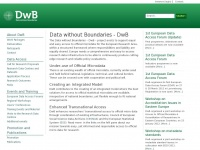 Dwbproject.org - Data Without Boundaries (DWB)