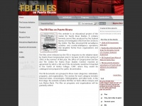 Pr-secretfiles.net - FBI Files on Puerto Ricans