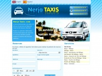 Nerja Taxis, transfer from Malaga Airport by private and personal taxi, microbus and minibus