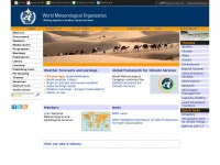 World Meteorological Organization Extranet | www.wmo.int