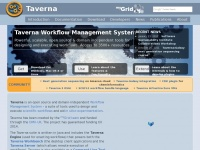 Taverna.org.uk - Taverna - open source and domain independent Workflow Management System