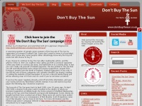 Dontbuythesun.co.uk - The Hillsborough Justice Campaign
