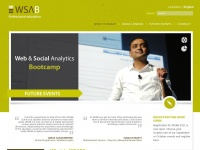 Wsab.info - WSAB Web & Social Analytics Bootcamp | Highly specialised and intensive practical course
