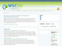 Wscsd.org - World Student Community for Sustainable Development – Sustainability through Collaboration