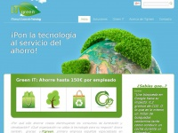 ITgreen, efficiency and sustainable technology.