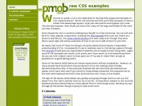 Pmob.co.uk - CSS examples