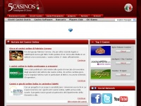 www.5casinos.it - Domain parked by Europe Registry