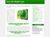Tavatea-information.com - Drink Tava Tea and lose weight in one month