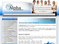 alpha-research.es
