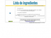 listadeingredientes.es