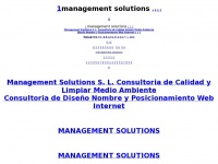 Management Solutions  S. L.