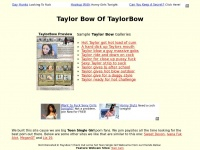 Taylorbow.es - Taylor Bow Of TaylorBow