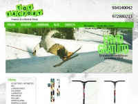 Toyfactory.es - Toy Factory Ski Scooter Longboard Deportes