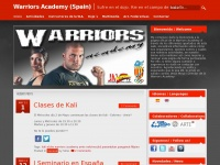 Warriors.es - WARRIORS ACADEMY SPAIN | DEFCON HEADQUARTERS – KALI / ESKRIMA / ARNIS – M.M.A. WARRIORS PRO-FIGHT