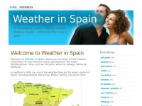 weatherinspain.es