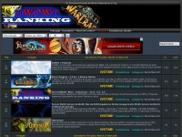 Wowranking.es - Top Ranking  WoW Private Servers - Top Servidores Privados World of Warcraft - Principal - Todos los Sitios