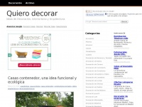 quierodecorar.com